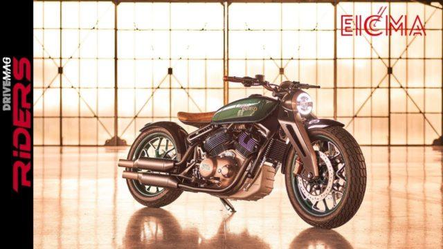 Royal Enfield KX Concept - Stunning! | Walkaround & Insights 9