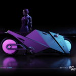 Rimac 2080 Hyper Cyber Bike or How Motorcycles Could Look Like in 60 Years 6