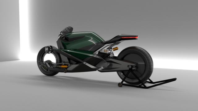 French Industrial Designer Creates the Bentley Hooligan Motorcycle 15