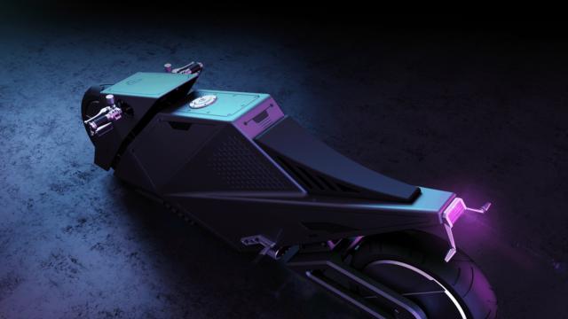 Rimac 2080 Hyper Cyber Bike or How Motorcycles Could Look Like in 60 Years 9