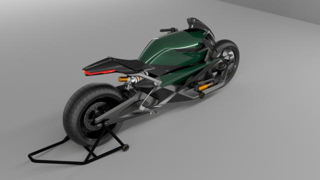 French Industrial Designer Creates the Bentley Hooligan Motorcycle 16