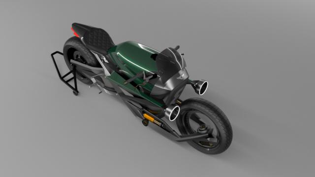 French Industrial Designer Creates the Bentley Hooligan Motorcycle 19
