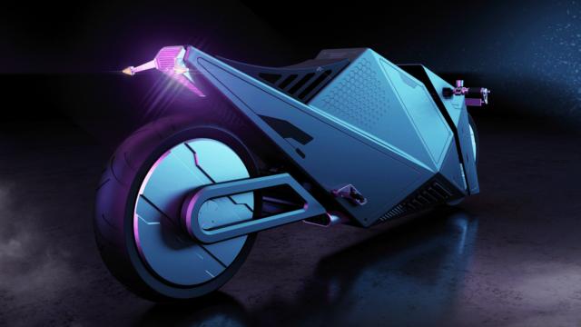 Rimac 2080 Hyper Cyber Bike or How Motorcycles Could Look Like in 60 Years 11