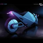 Rimac 2080 Hyper Cyber Bike or How Motorcycles Could Look Like in 60 Years 5