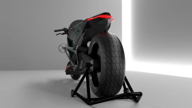 French Industrial Designer Creates the Bentley Hooligan Motorcycle 17