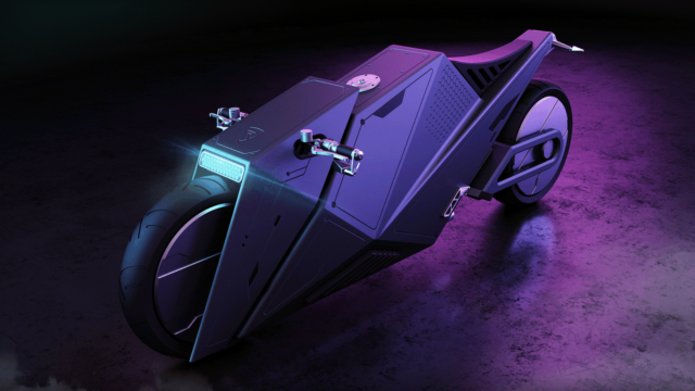 Rimac 2080 Hyper Cyber Bike or How Motorcycles Could Look Like in 60 Years 1