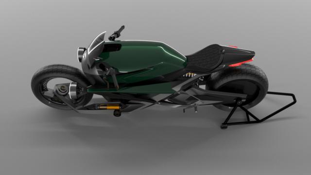 French Industrial Designer Creates the Bentley Hooligan Motorcycle 18