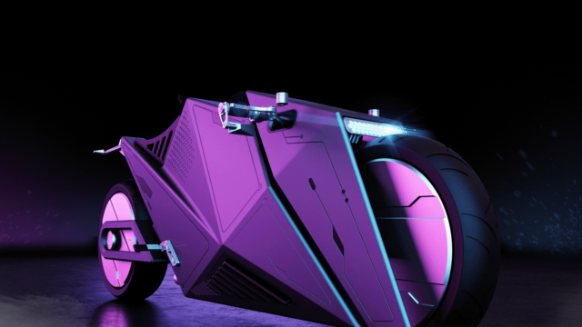 Rimac 2080 Hyper Cyber Bike or How Motorcycles Could Look Like in 60 Years 8
