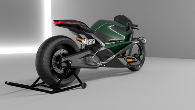 French Industrial Designer Creates the Bentley Hooligan Motorcycle 11