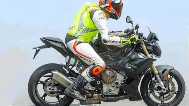 Spy Photos: Incoming New BMW S1000R 3
