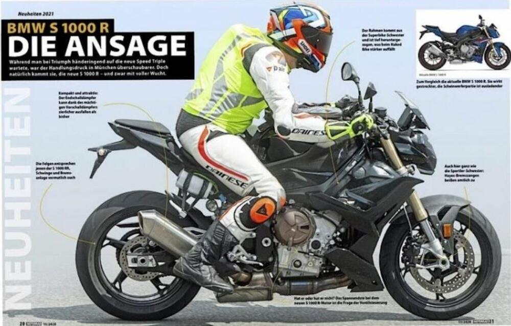 Spy Photos Incoming New Bmw S1000r Drivemag Riders