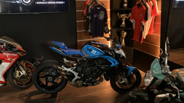 MV Agusta Launches Monaco Design Studio 2