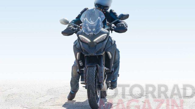 Spy Photos: Ducati Multistrada V4 Spotted Testing Again 3
