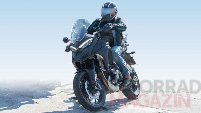 Spy Photos: Ducati Multistrada V4 Spotted Testing Again 15