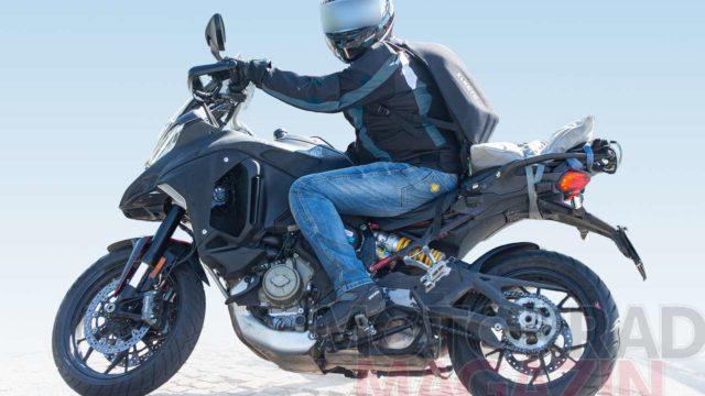 Spy Photos: Ducati Multistrada V4 Spotted Testing Again 2