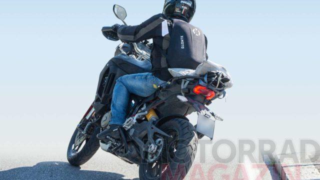 Spy Photos: Ducati Multistrada V4 Spotted Testing Again 5