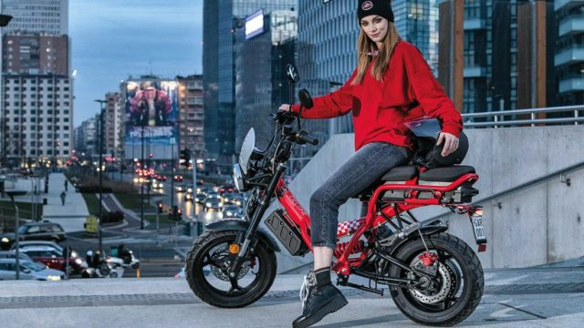 Chic Electric Scooter for Urban Riding 1