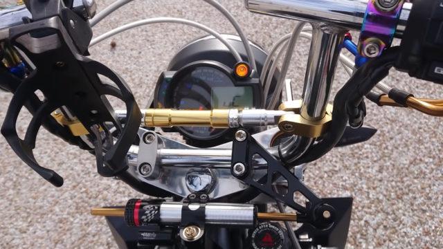 Custom 45 HP Inline-Four Honda Monkey on Steroids 12