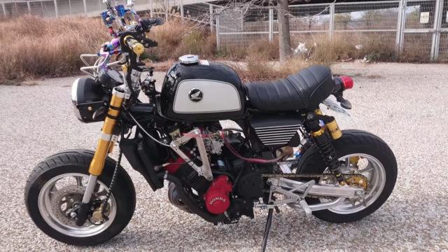 Custom 45 HP Inline-Four Honda Monkey on Steroids 13