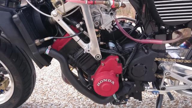 Custom 45 HP Inline-Four Honda Monkey on Steroids 3