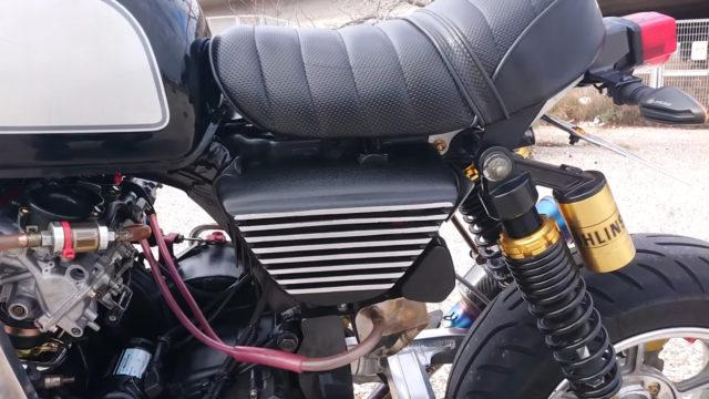Custom 45 HP Inline-Four Honda Monkey on Steroids 9