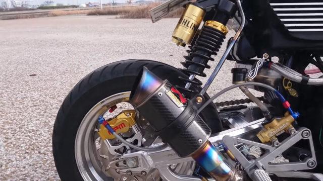 Custom 45 HP Inline-Four Honda Monkey on Steroids 8