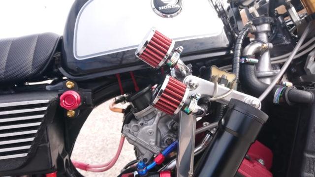 Custom 45 HP Inline-Four Honda Monkey on Steroids 4
