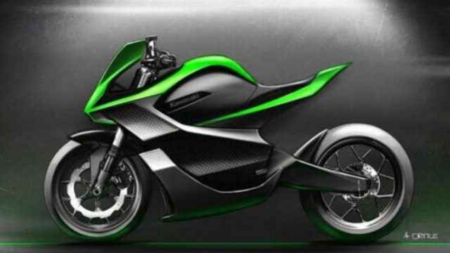 Kawasaki Patents Supercharged Two-Stroke Inline-Four Engine 9