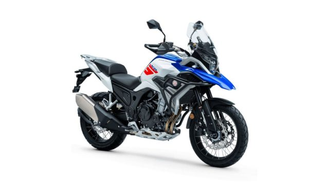 Spanish Adventure Motorcycle Looks Like a BMW GS Series 19