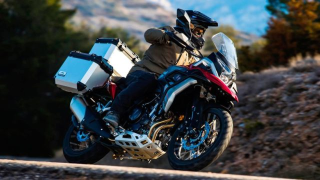Spanish Adventure Motorcycle Looks Like a BMW GS Series 23