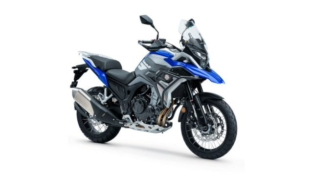 Spanish Adventure Motorcycle Looks Like a BMW GS Series 20