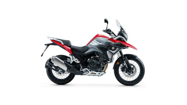 Spanish Adventure Motorcycle Looks Like a BMW GS Series 16