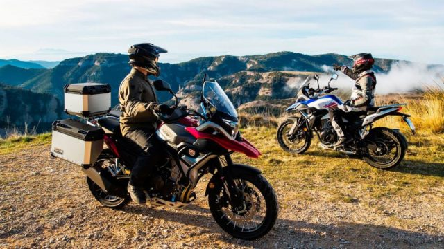 Spanish Adventure Motorcycle Looks Like a BMW GS Series 21