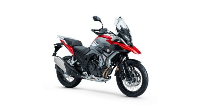 Spanish Adventure Motorcycle Looks Like a BMW GS Series 15
