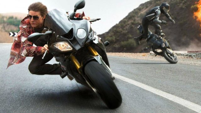 Tom Cruise Resumes Practice on a Motocross Bike for Mission Impossible 7 Movie 2
