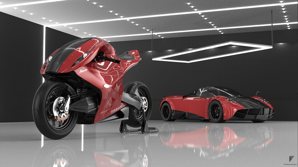 Pagani Amaru The Ultimate Hyperbike Concept Drivemag Riders