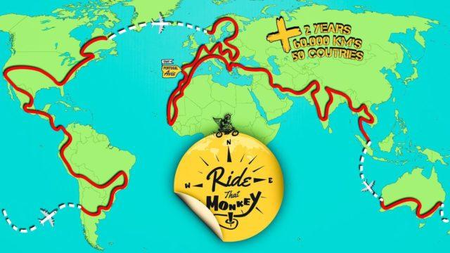 Ride that Monkey Around the World 19