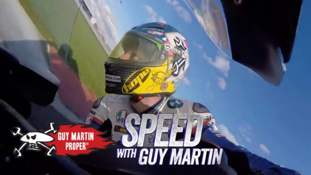 Speed Challenge: Guy Martin on his Tyco BMW Superbike vs David Coulthard in a Formula 1 car 5