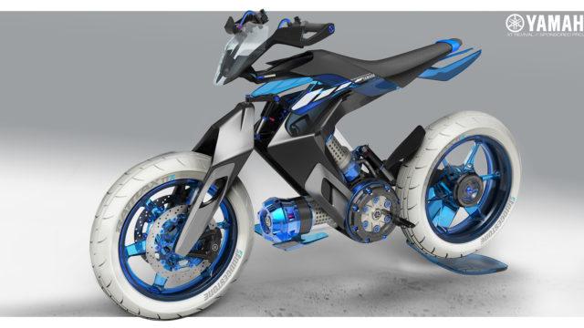 2025 Yamaha XT 500 H2O - Concept Bike that Runs on Water 13