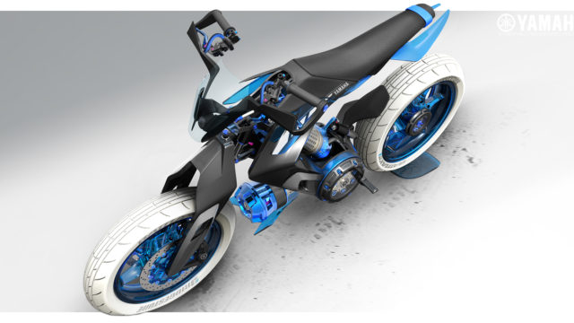 2025 Yamaha XT 500 H2O - Concept Bike that Runs on Water 14