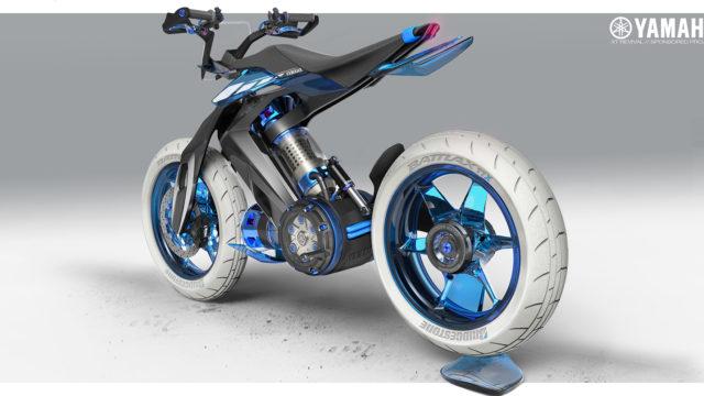 2025 Yamaha XT 500 H2O - Concept Bike that Runs on Water 15