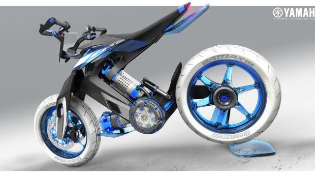 2025 Yamaha XT 500 H2O - Concept Bike that Runs on Water 16