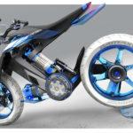 2025 Yamaha XT 500 H2O - Concept Bike that Runs on Water 5