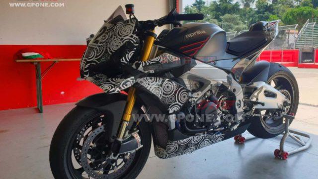 2021 Aprilia Tuono V4 1100 Could Receive MotoGP Winglets 1