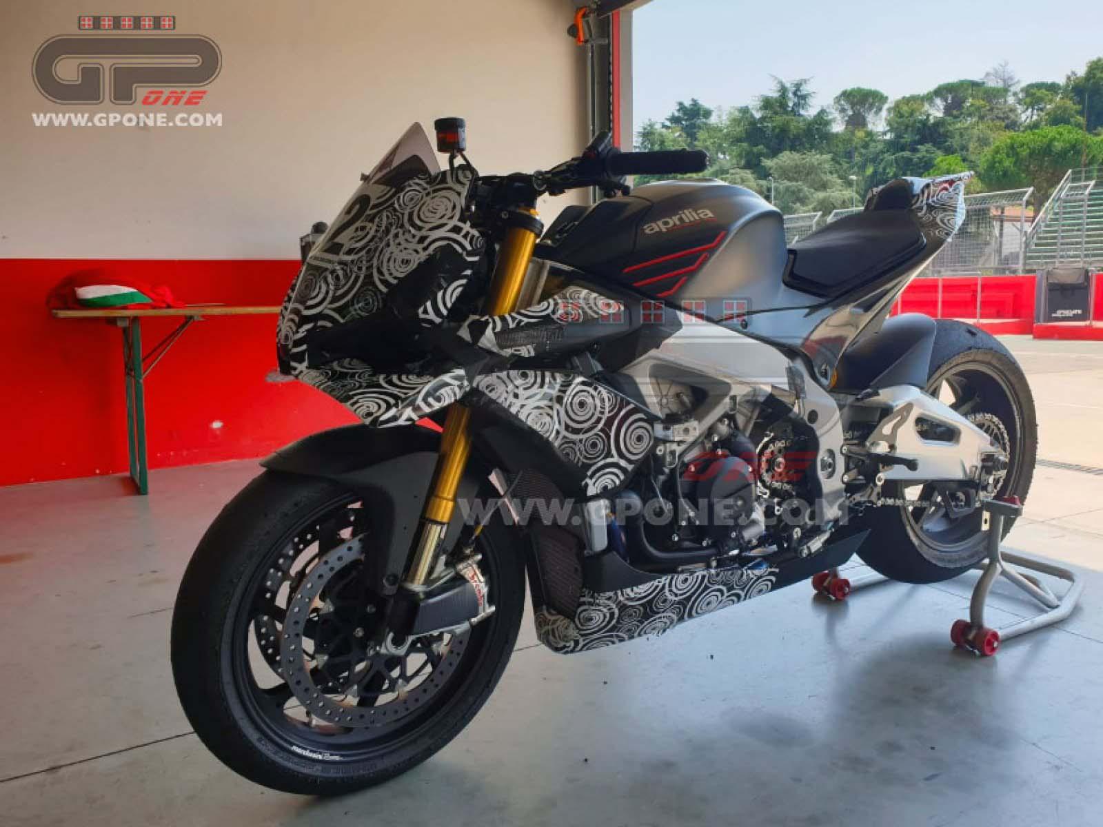 2021 Aprilia Tuono V4 1100 Could Receive Motogp Winglets Drivemag Riders