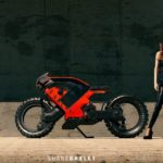 Hubless Electric Motorcycle with Mad Max Looks 2