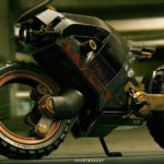 Hubless Electric Motorcycle with Mad Max Looks 6
