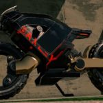 Hubless Electric Motorcycle with Mad Max Looks 7