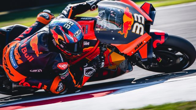KTM In MotoGP - A Possible Success Story 112