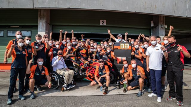 KTM In MotoGP - A Possible Success Story 102